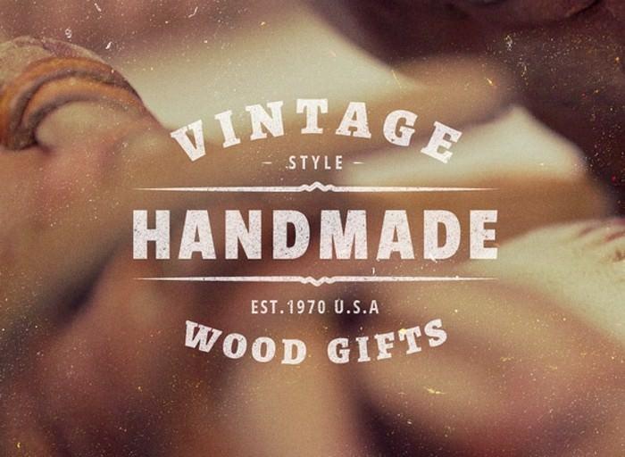 5 Vintage Labels Insignias Vol.1