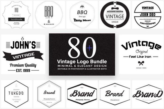 Free Elegant Vintage Logo Templates