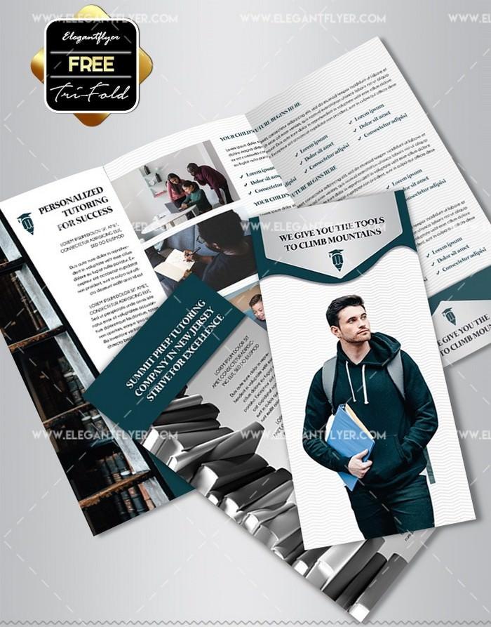 Academic Tutor School Flyer Template
