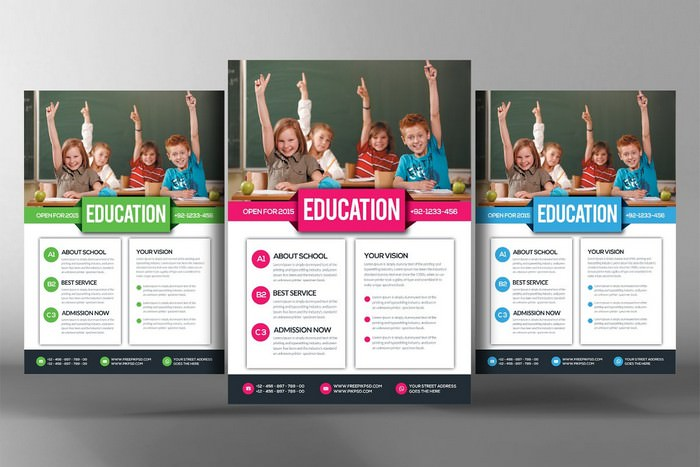 Academic Tutor & School Flyer