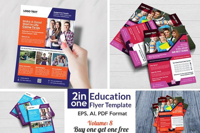 Admission Flyer Template