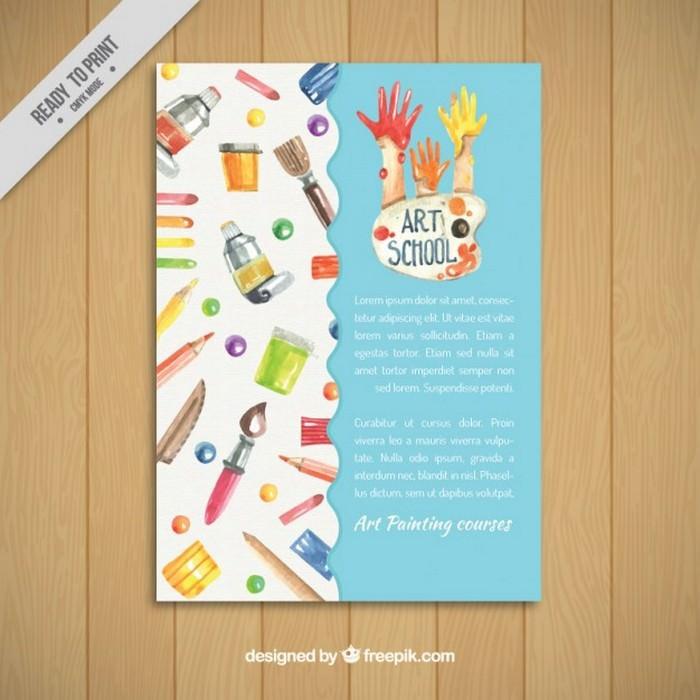 Art School Flyer