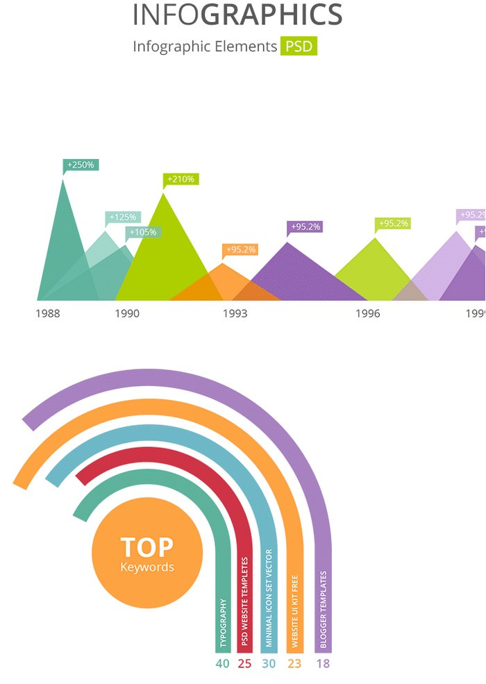 Beautiful Infographic Elements