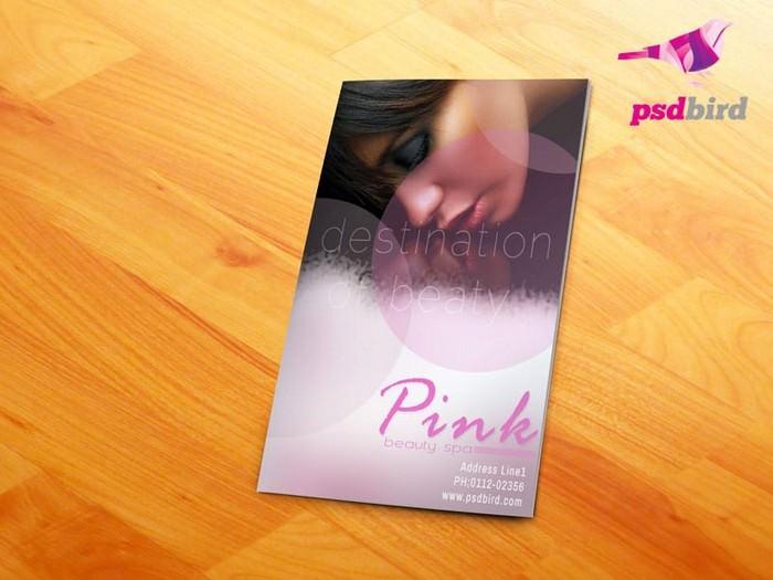 Beauty Salon Spa Brochure PSD