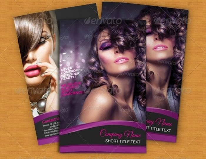 Bi-fold Brochure-Beauty Parlour