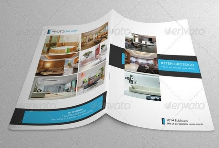 Bifold Brochure-Interior Design