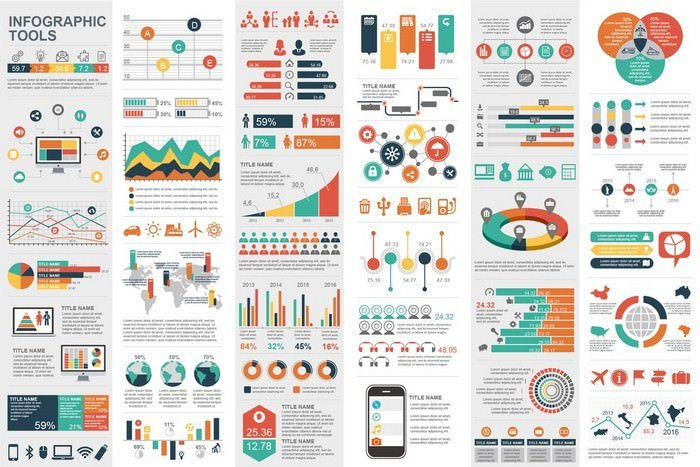 Business Marketing Infographic Elements