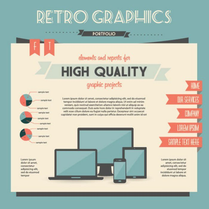Economy Infographics Design Elements Vector Graphic
