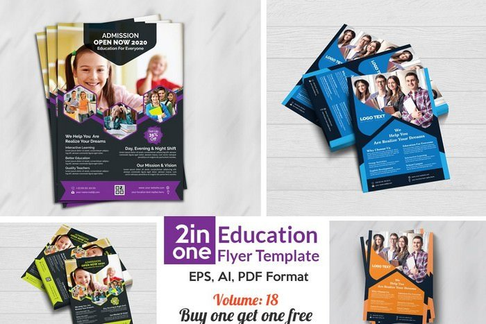 Education Flyers Template