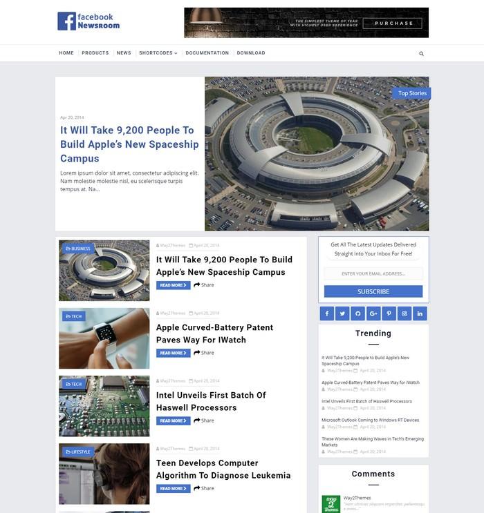 FB NewsRoom