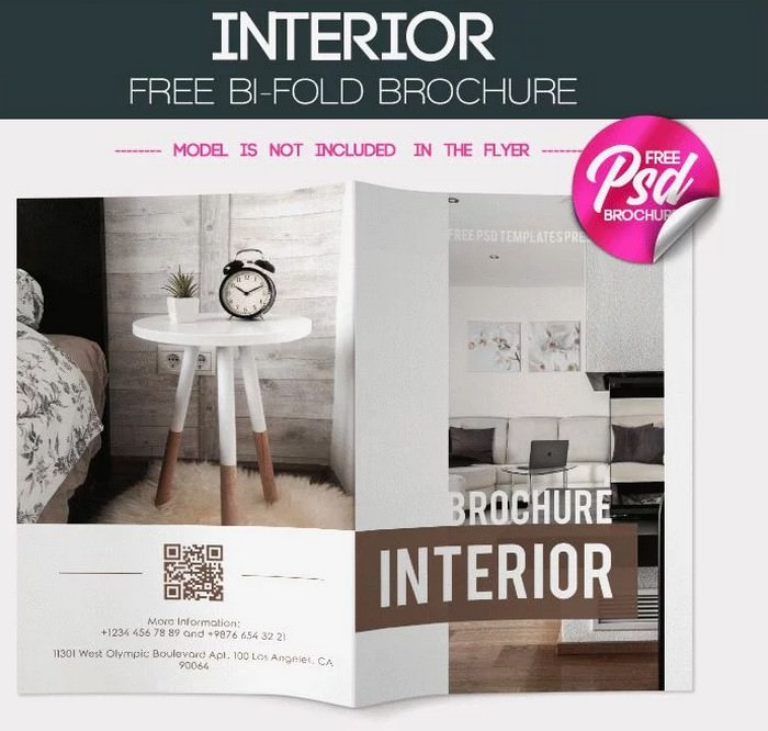 Free Interior BI-FOLD Brochure
