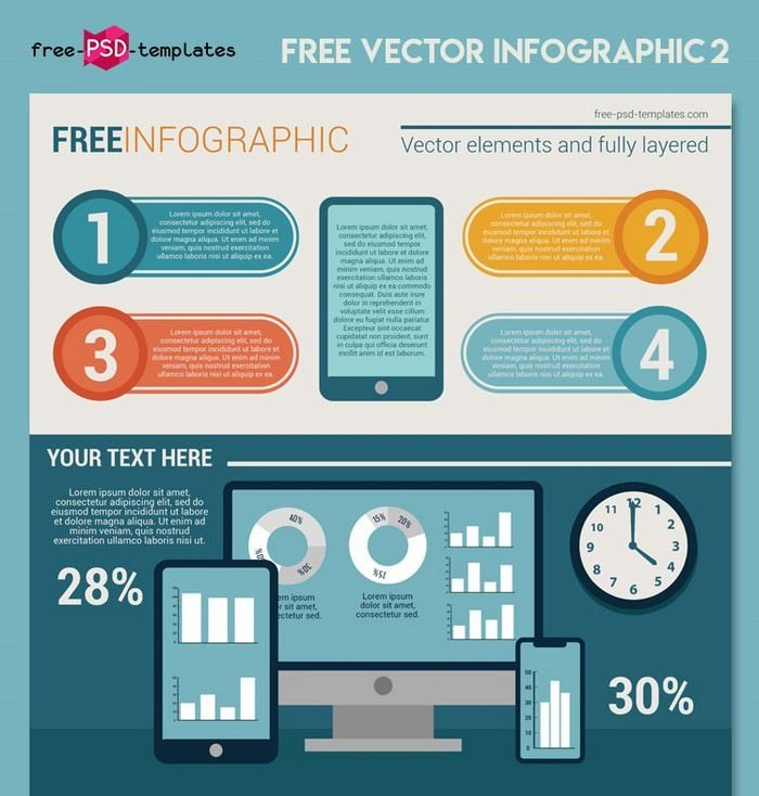 Free Vector Infographic