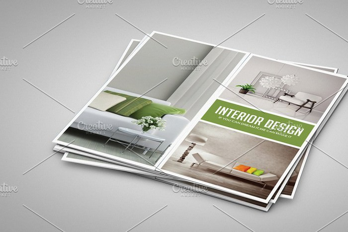 Gate Fold Interior Brochure