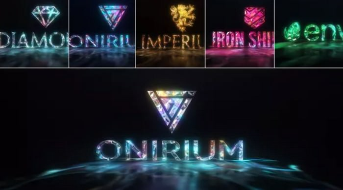Gems & Lights - Gemstones Logo Reveal Pack