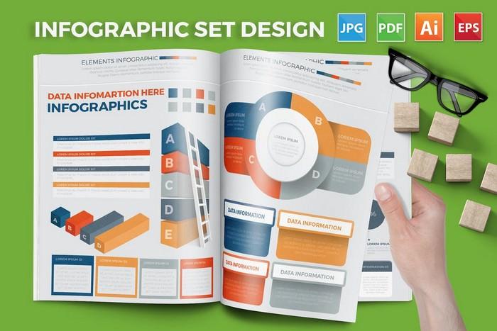 Infographic Elements Set Design