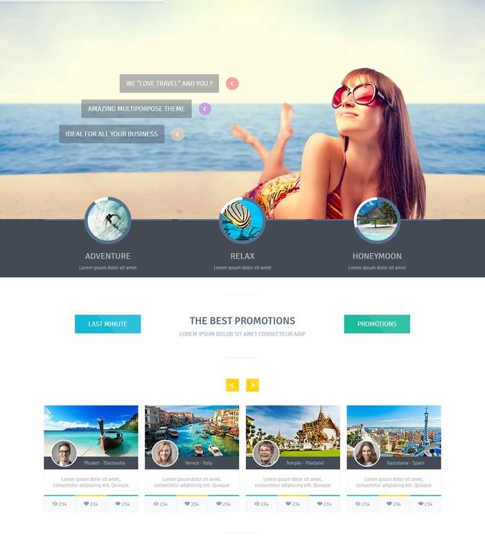 Love Travel - HTML