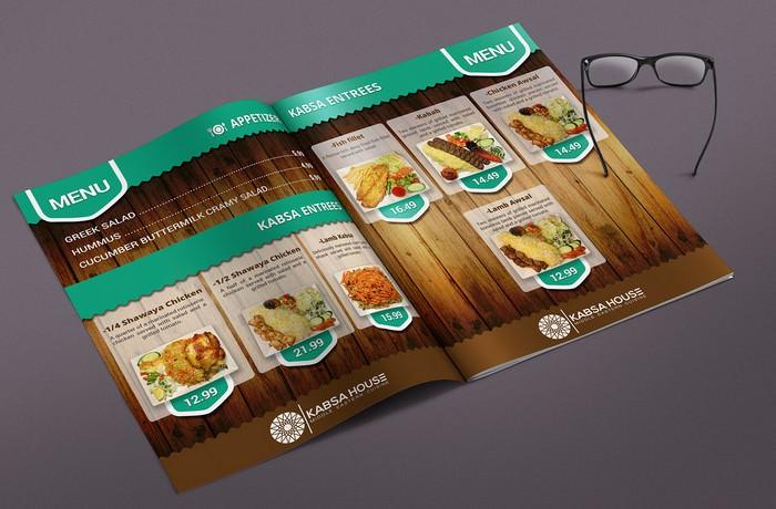 Professional Restaurant Menus And Brochure