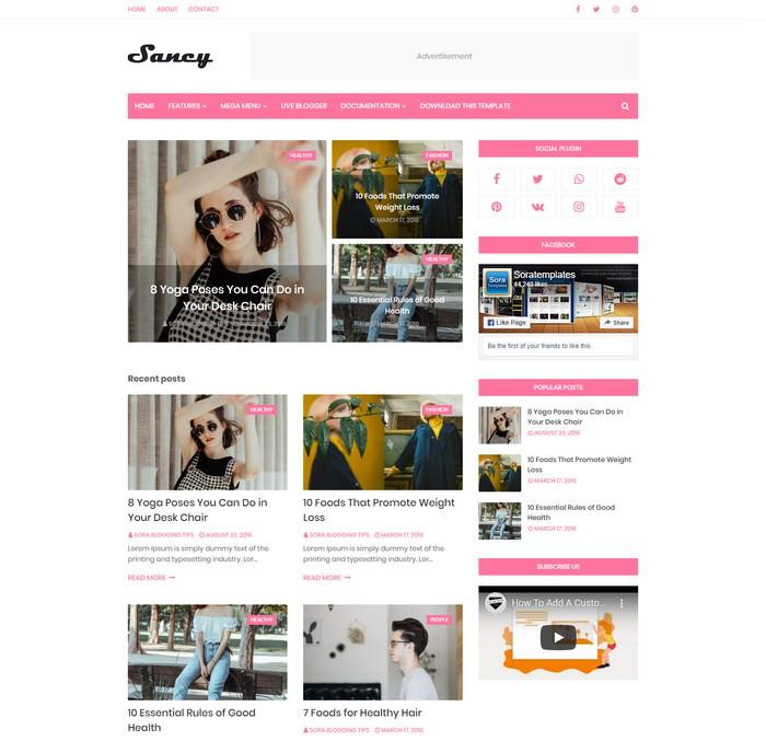 Sancy Blogger