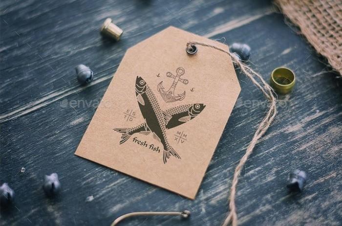 Sea Vintage Logo Mock Ups