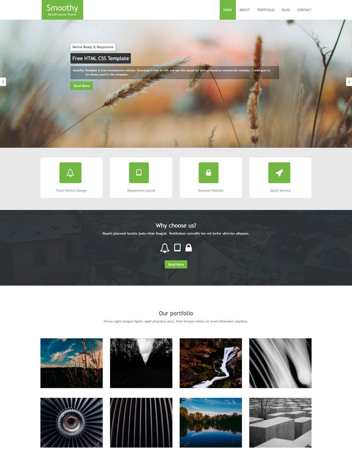 Smoothy HTML5 Template
