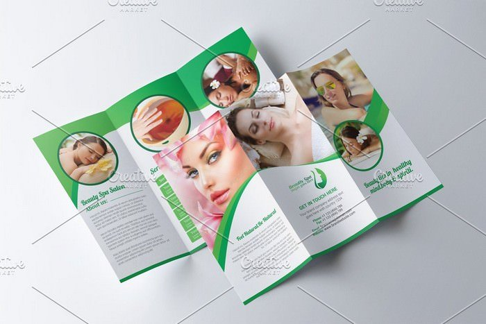 Spa & Beauty Salon Brochure