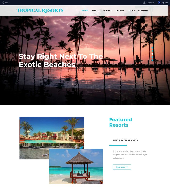 Tropical Resorts