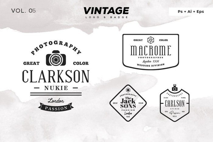 Vintage Logo & Badge Vol. 5