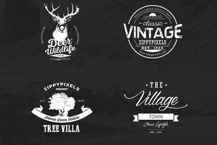 Vintage Vector Logo Design