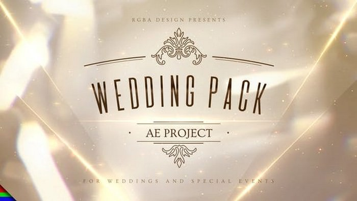 Wedding Pack After Effects Template