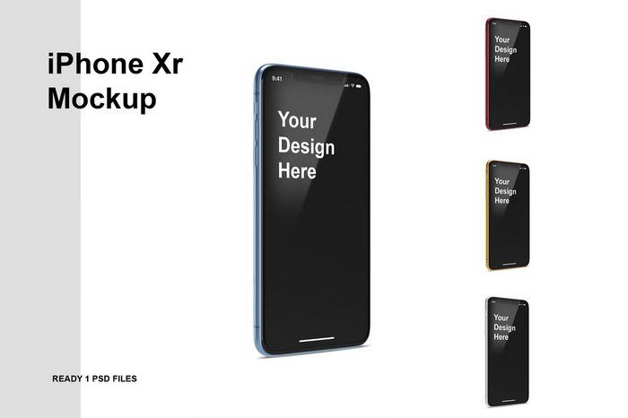 iPhone Xr Mockup