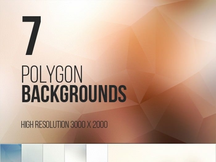 7 Polygon Backgrounds