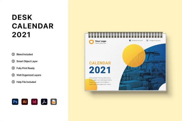 Aesthetic Calendar 2021
