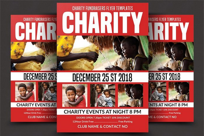 Charity Fundraising Flyer
