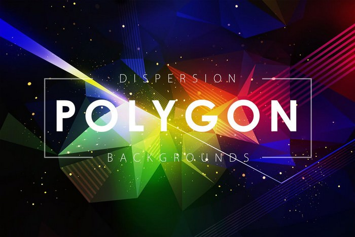 Dispersion Polygon Background