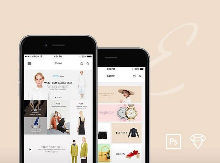 Elegance iOS UI