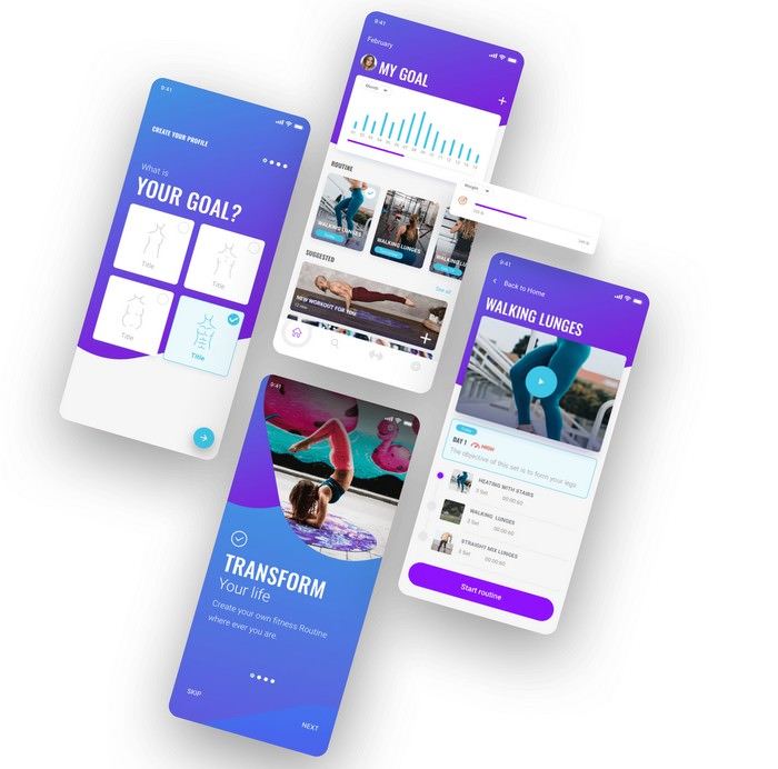 Fitgoal The UI Kit