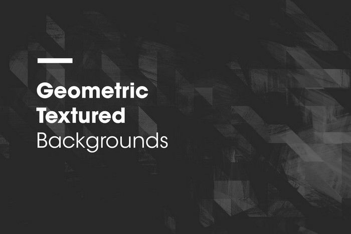 Geometric Textured Backgrounds