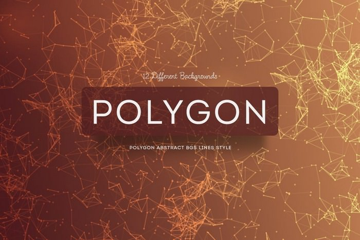 Polygon Abstract Backgrounds Lines