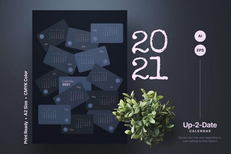 Up 2 Date Year Calendar
