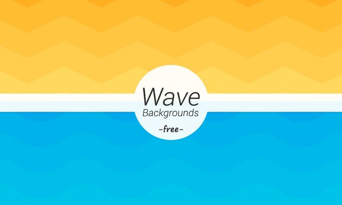 Wave Geometric Backgrounds