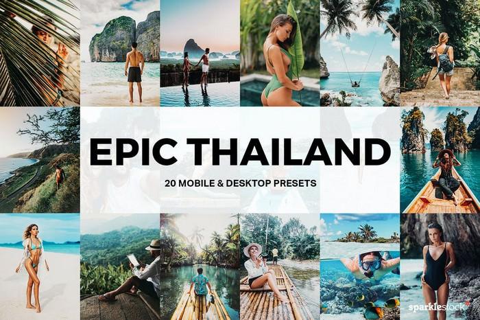 20 Epic Thailand Landscape Lightroom Presets and LUTs