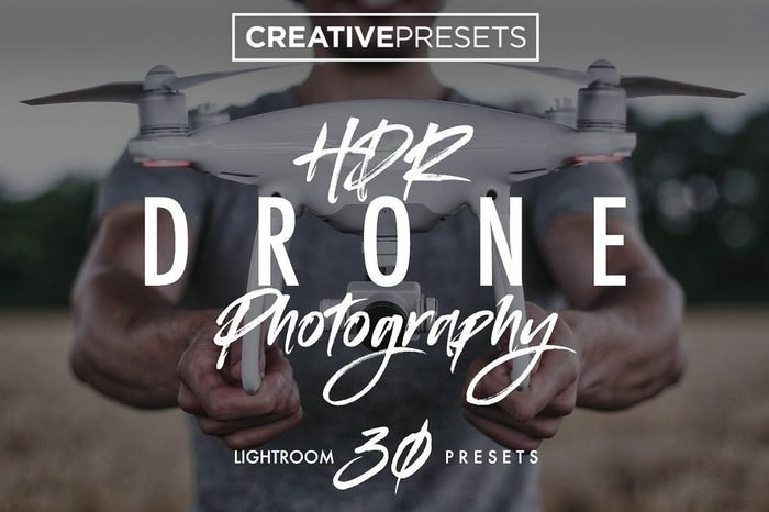 HDR - Drone Lightroom Presets