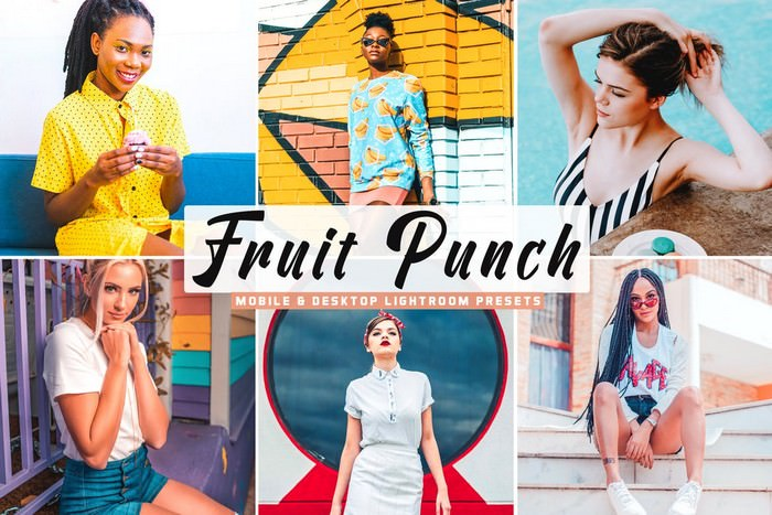 Fruit Punch Mobile & Desktop Lightroom Presets
