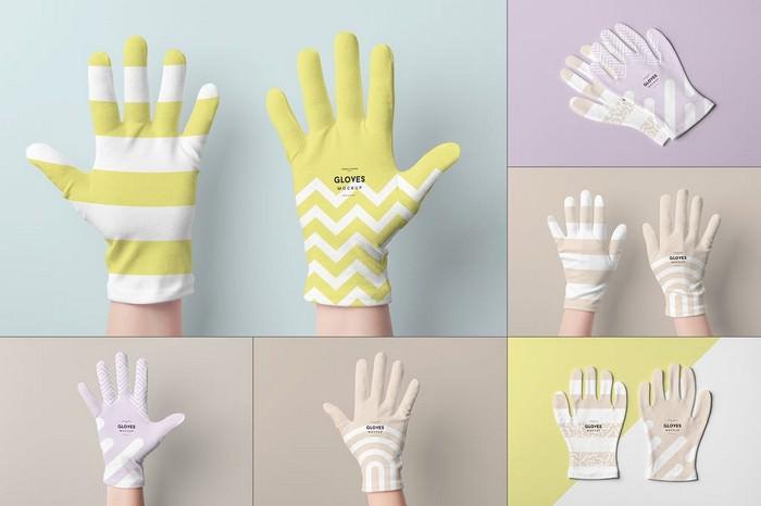Gloves Mock-up