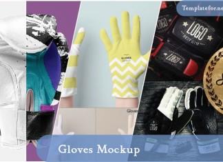 Gloves Mockups