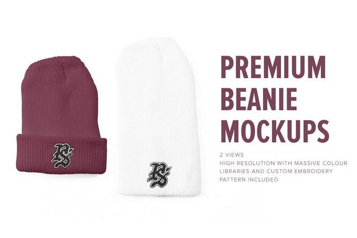 Premium Beanie Mockups