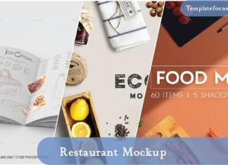 Restaurant Mockups