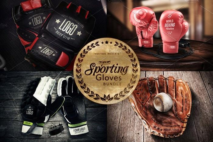 Sporting Gloves - Mockups