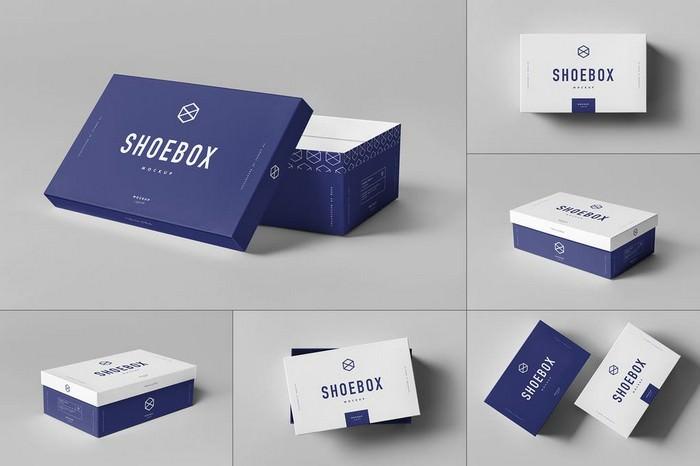 Advance Shoe Box Mock-up PSD-3000×2000 px