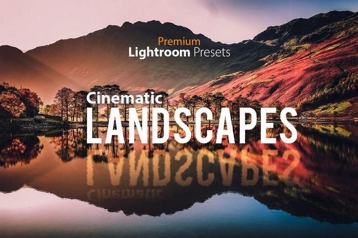 Cinematic Landscape Lightroom Preset